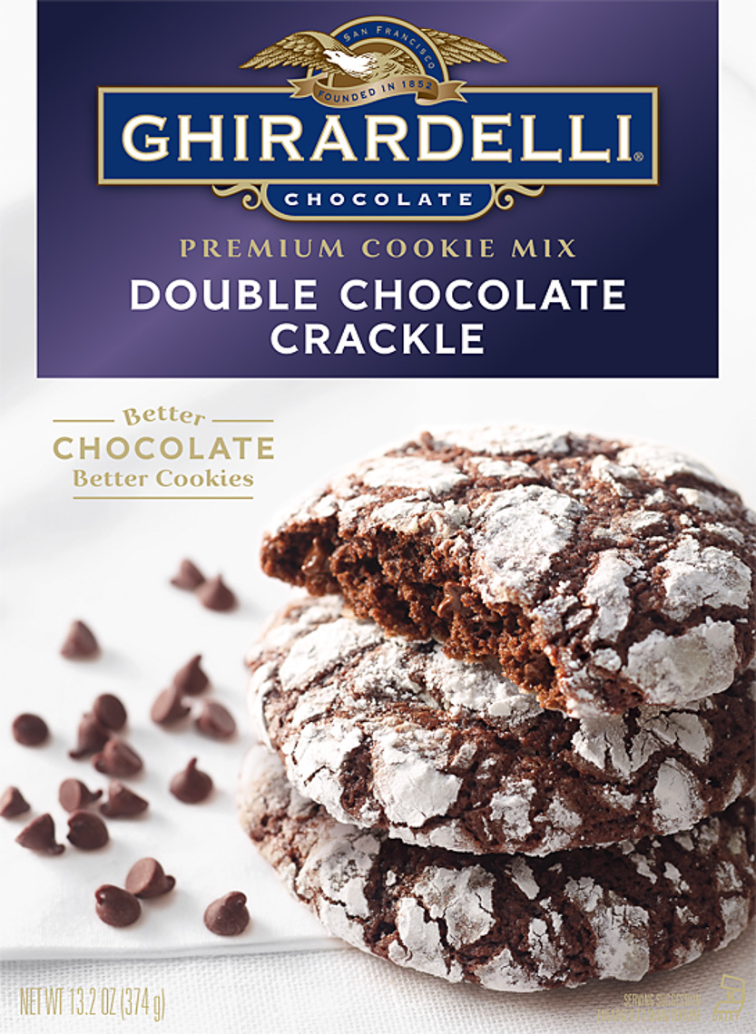 Ghirardelli Food Photography Packaging