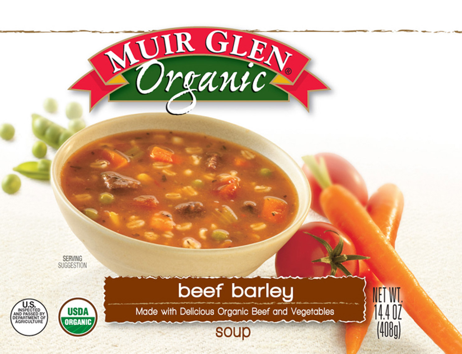 Muir Glen Organic Food Packaging Photography