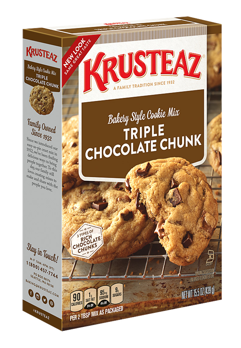 Krusteaz Food Photography Packaging