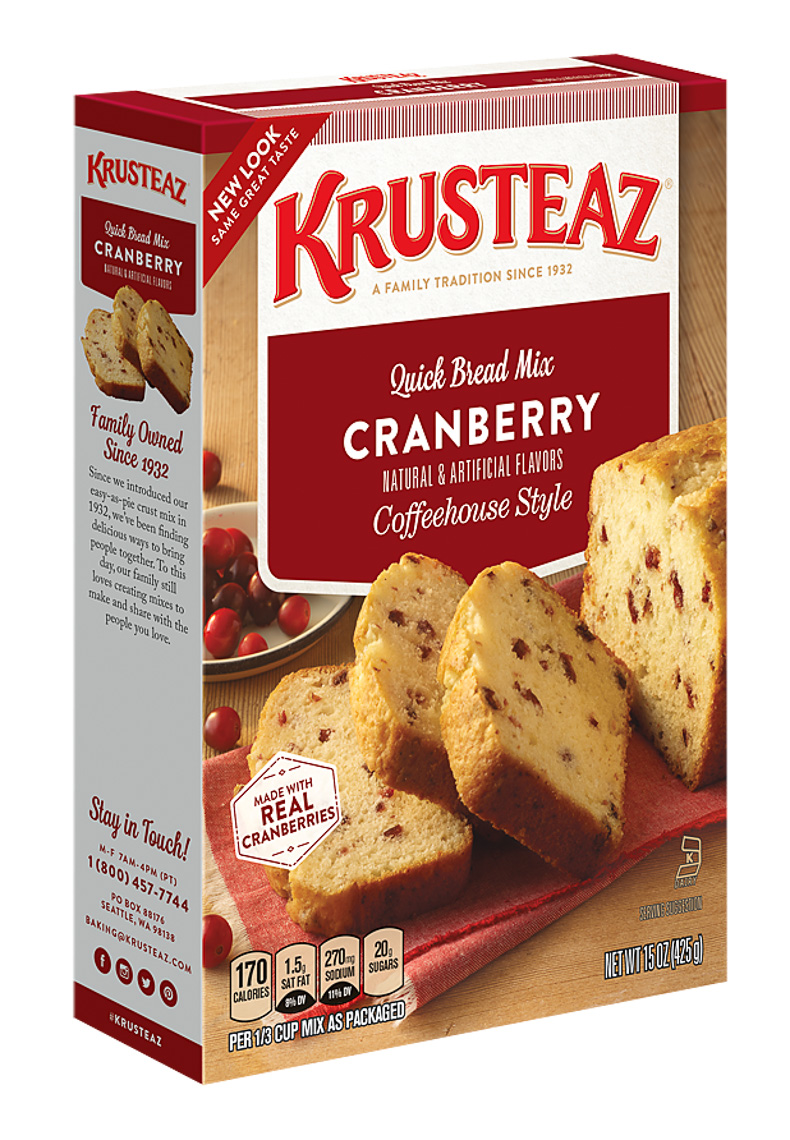 Krusteaz Food Packaging Photography