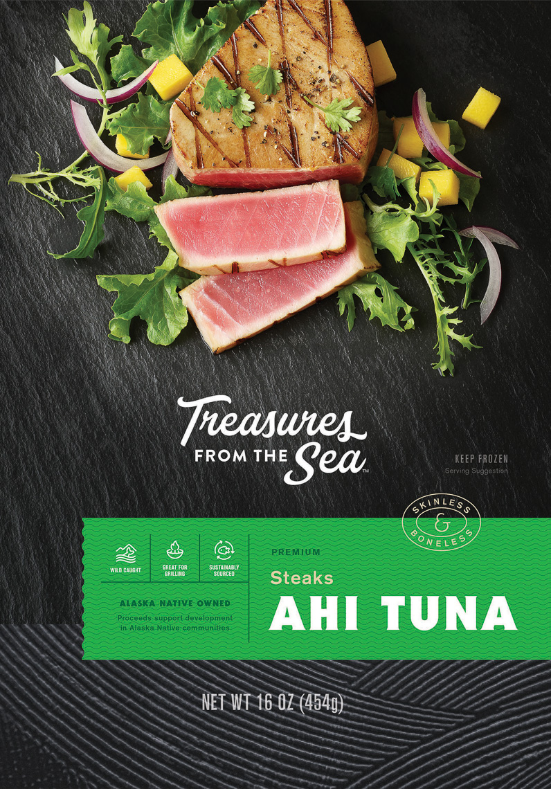 Seattle Treasures of the Sea Packaging Photography
