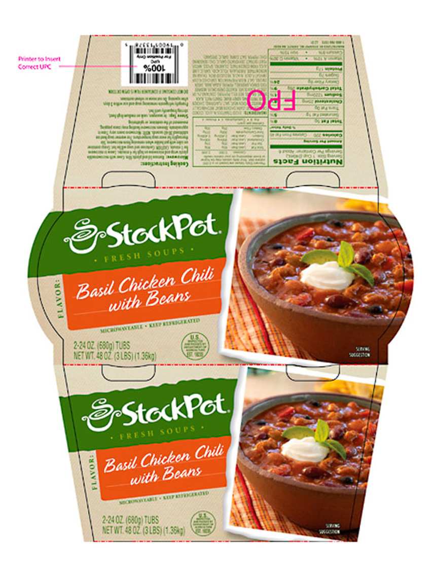 Stockpot Food Packaging Photography